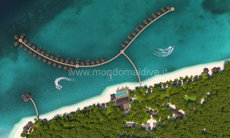 Mercure Maldives Kooddoo Resort Gaafu Alifu Isole Maldive
