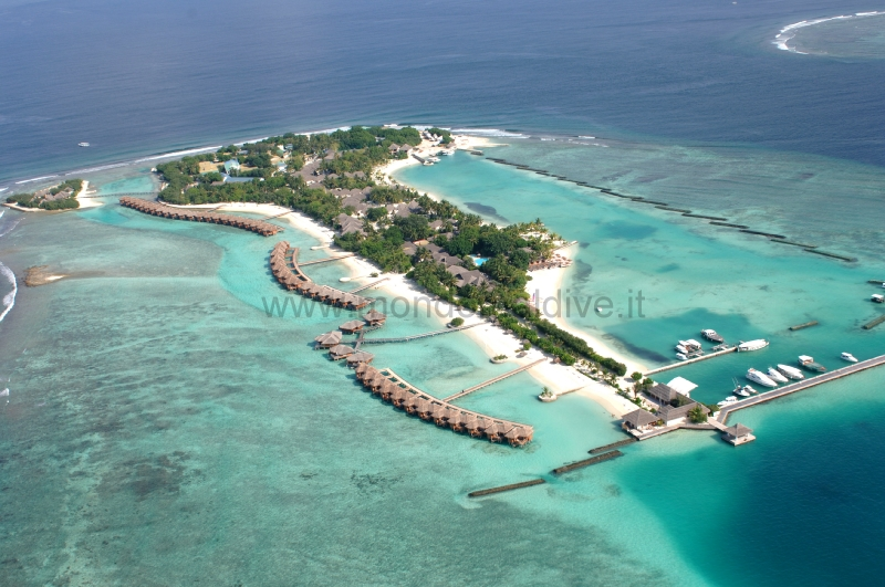 Sheraton Maldives Full Moon Resort & Spa Male Nord Isole Maldive