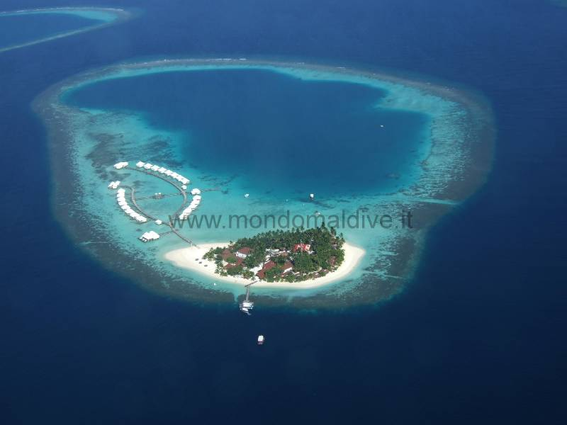 Thudufushi Diamonds Island Resort Ari Sud Isole Maldive