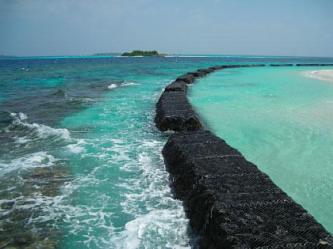 alta marea - Astronomia alle Maldive