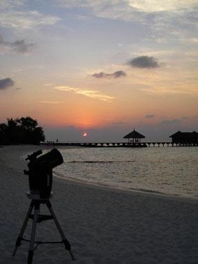 Astronomia alle Maldive