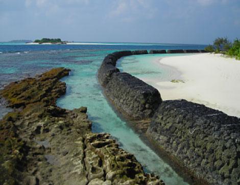 bassa marea - Astronomia alle Maldive