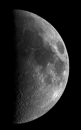 Luna - Astronomia alle Maldive