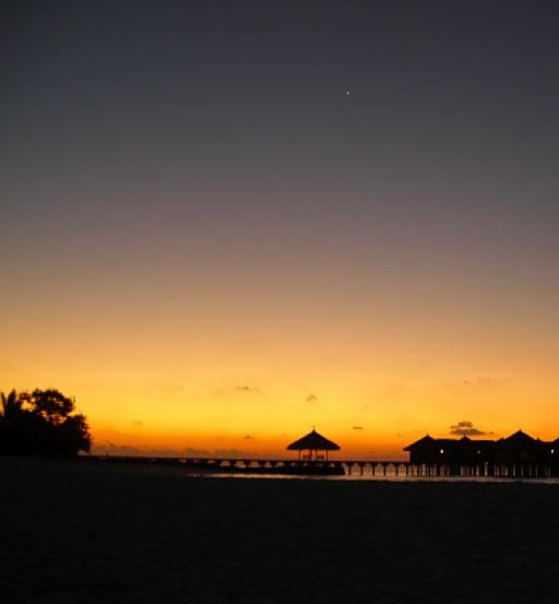 Pianeta Venere - Astronomia alle Maldive