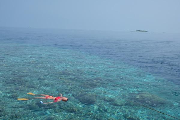 Vakarufalhi reef