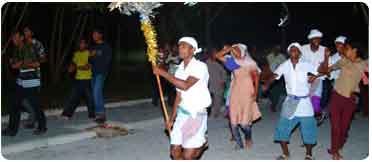 bodu beru, Maldive