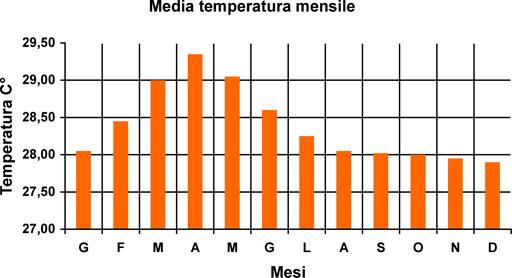 temperature maldive