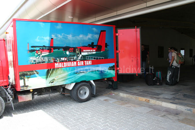 trasferimento baggagli Idrovolanti Maldive
