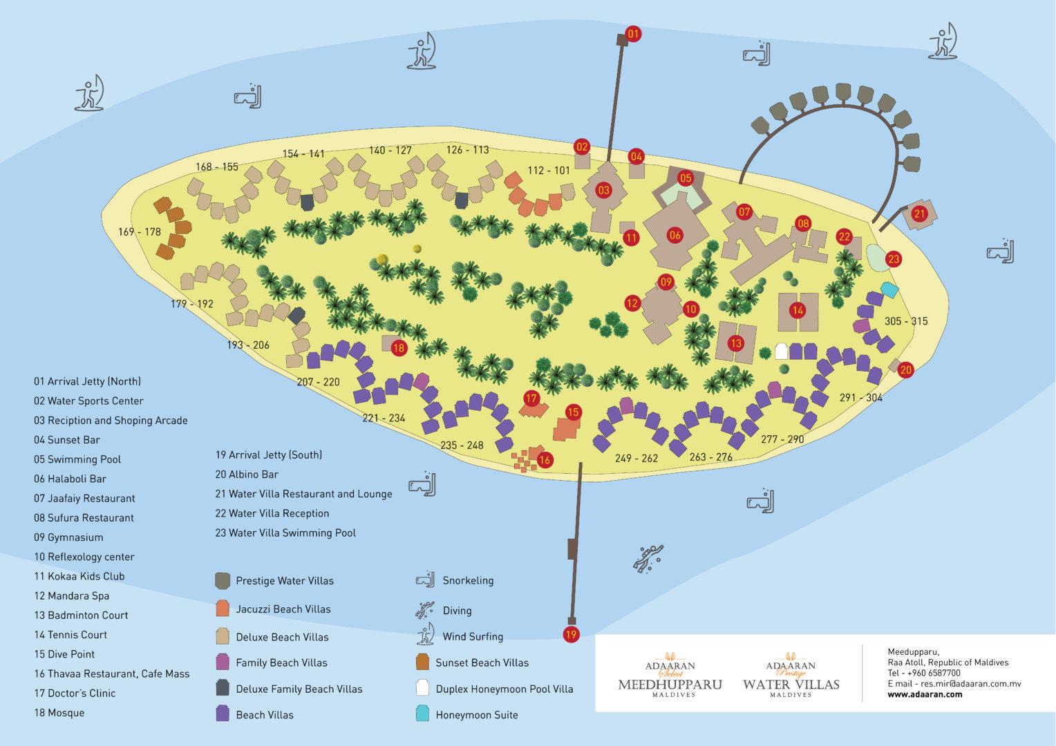 mappa Meedhupparu Maldive, Map Maldives