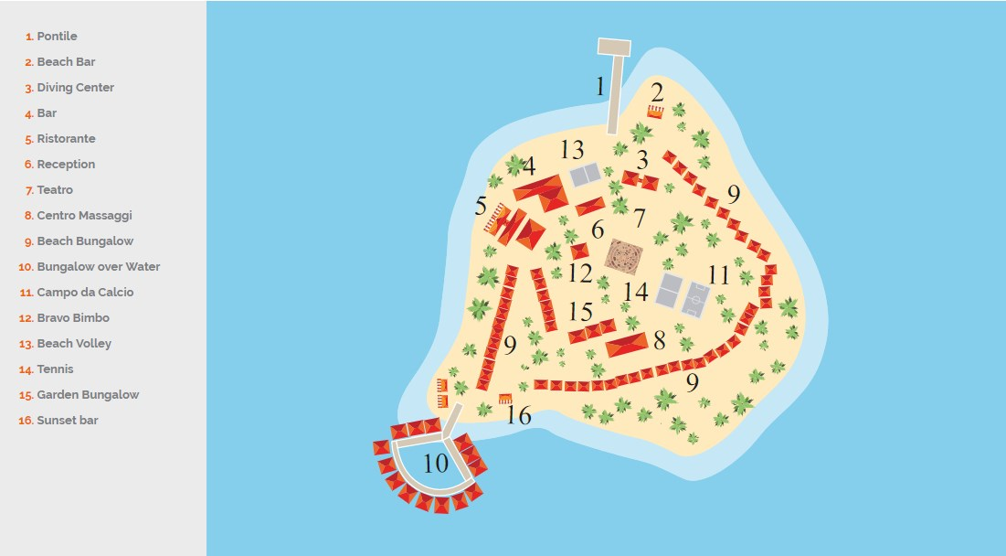 mappa Alimatha Maldive, Map Maldives