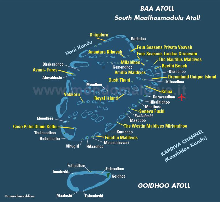 Atollo di Baa, Maldive