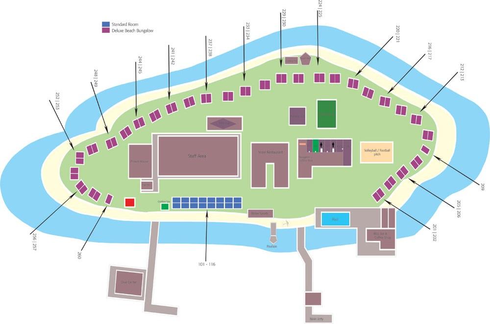mappa Eriyadu Maldive, Map Maldives