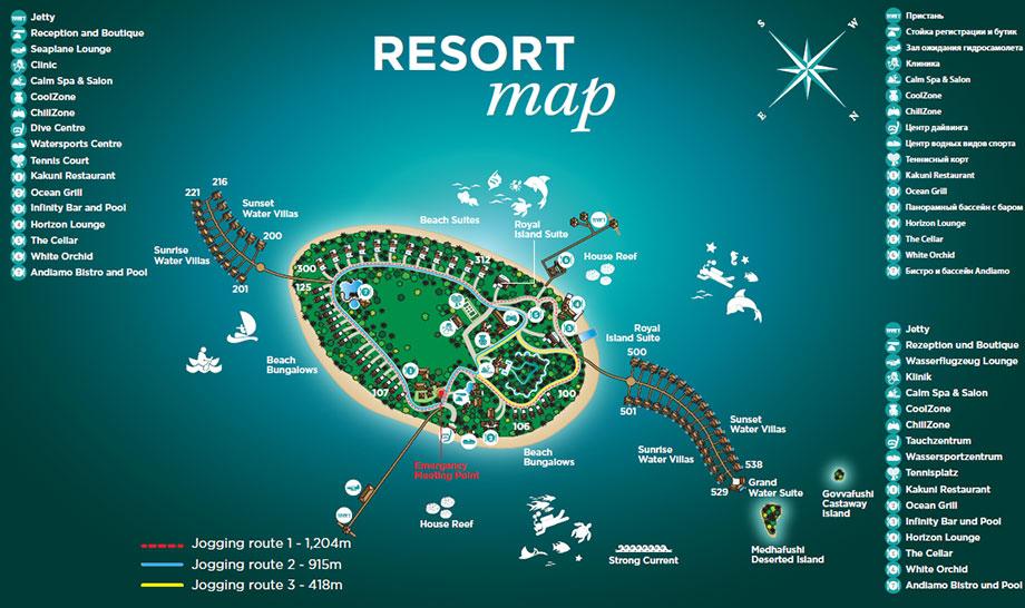 mappa JA Manafaru Maldives, Map Maldives