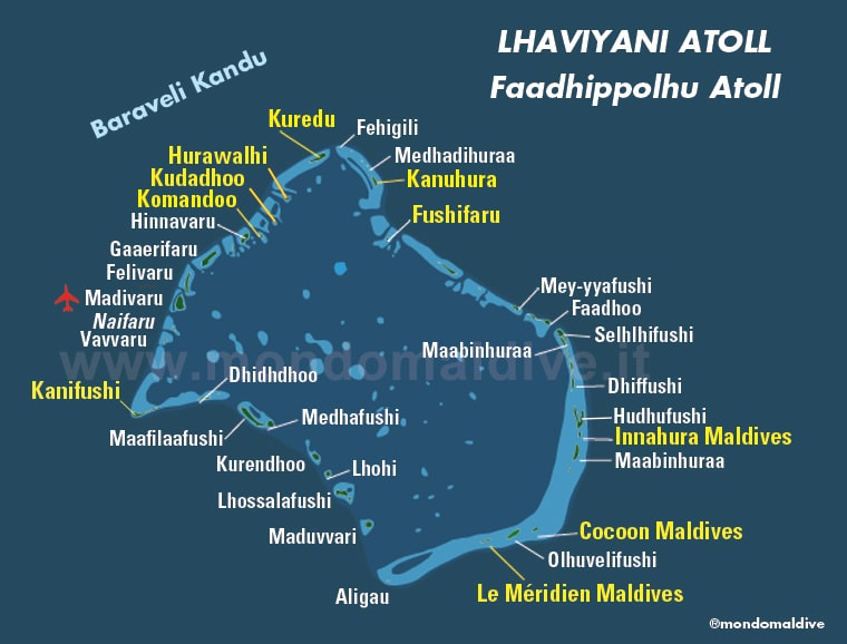 Atollo di Lhaviyani, Maldive
