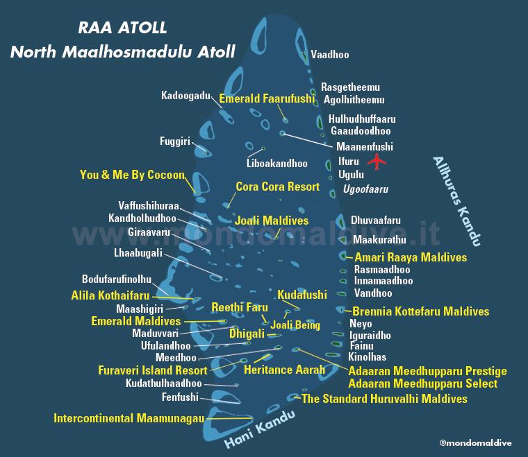 Atollo di Raa, Maldive