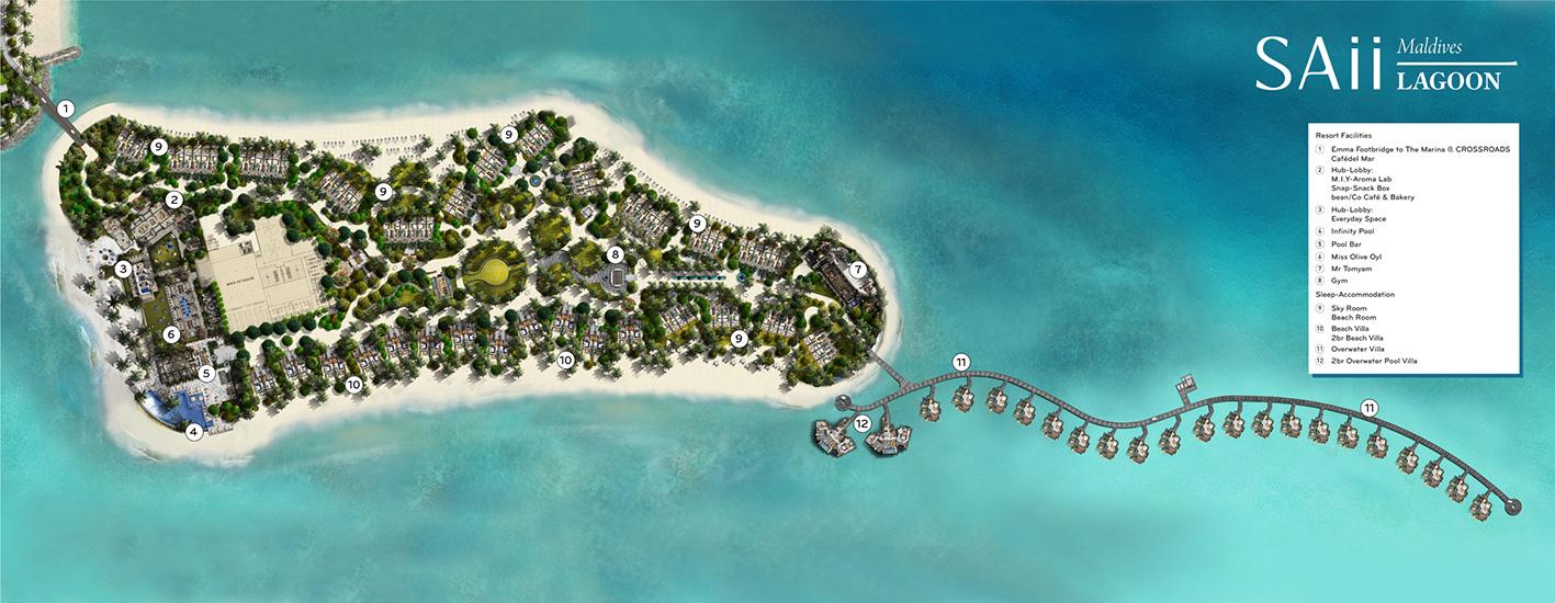 mappa SAii Lagoon Maldives Maldive, Map Maldives