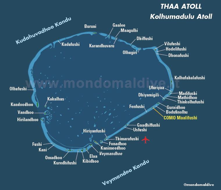 Atollo di Thaa, Maldive