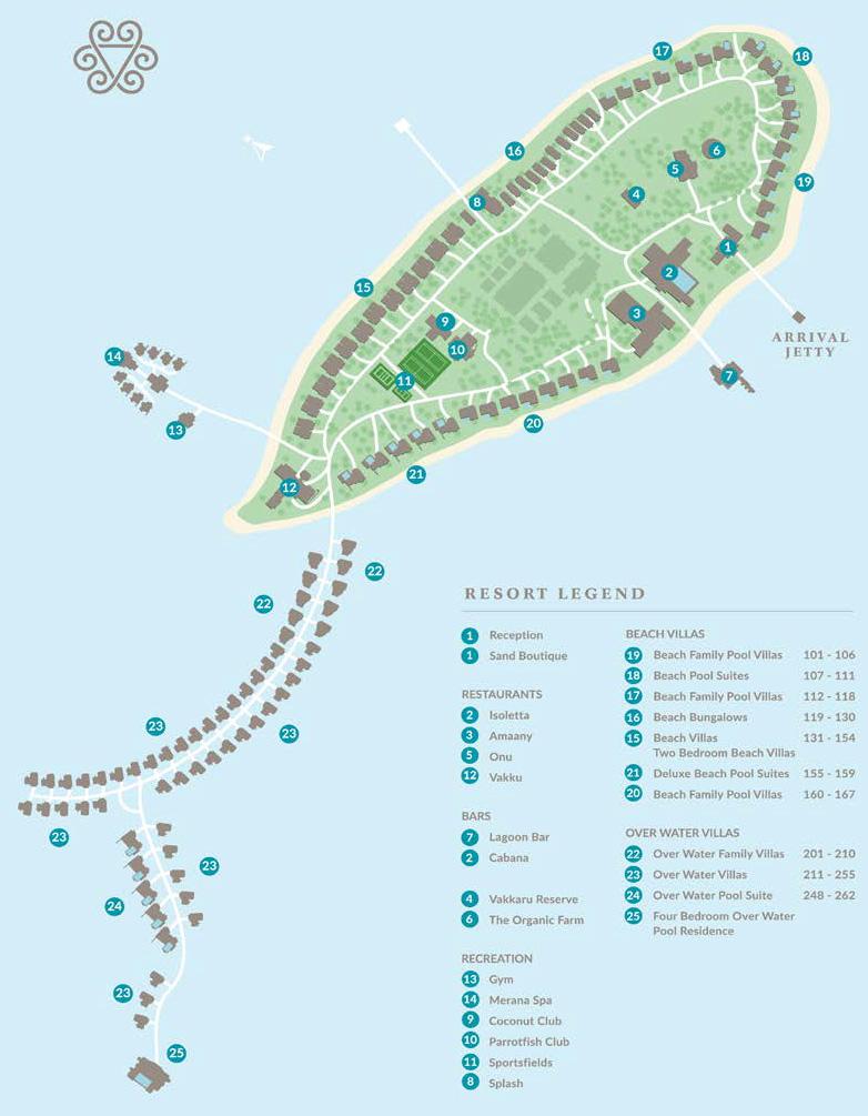 mappa Vakkaru Maldive, Map Maldives