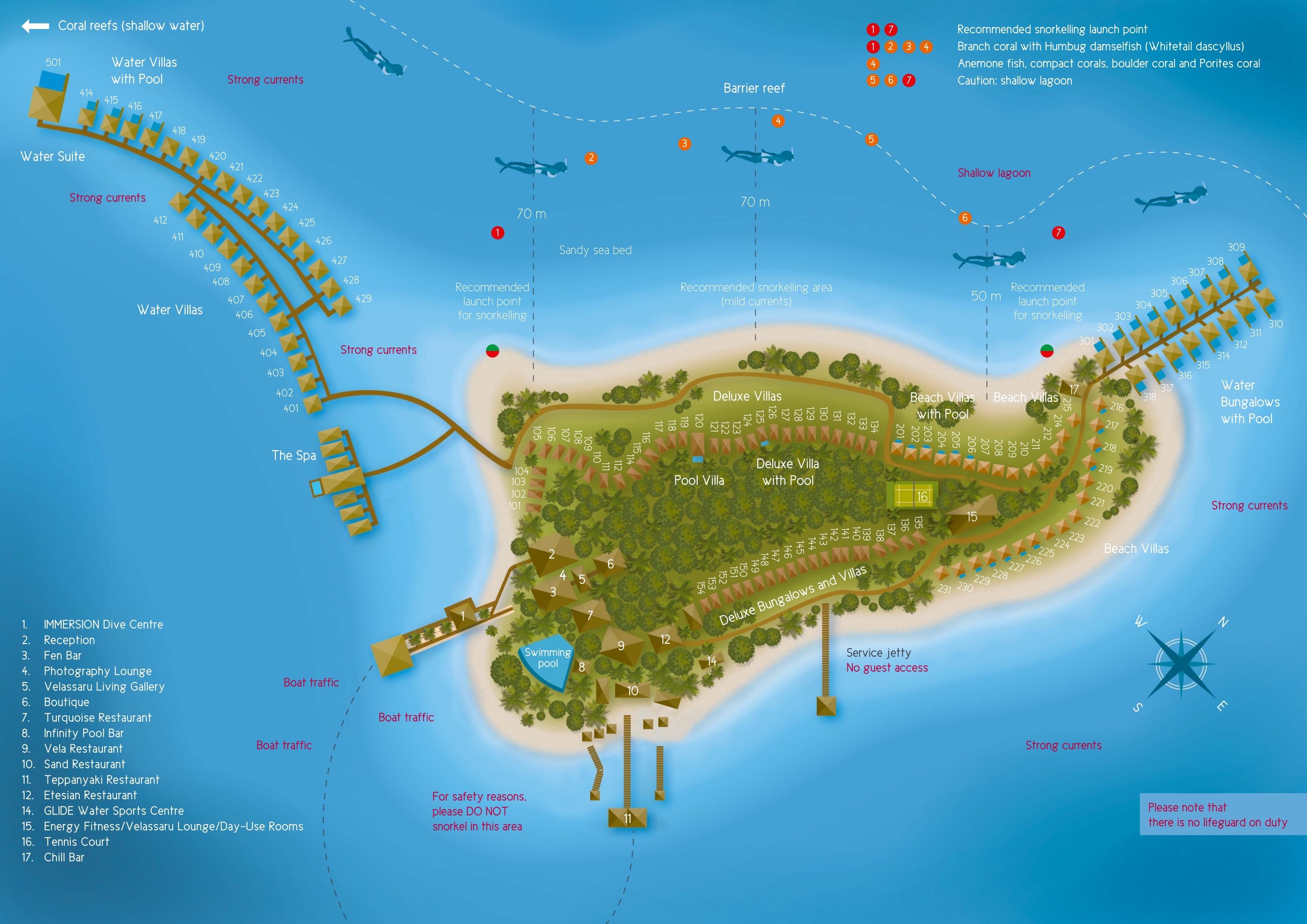 mappa Velassaru Maldive, Map Maldives