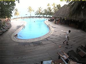 Webcam Kuredu Maldive