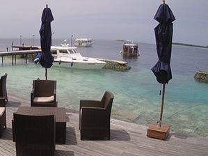Webcam Lily Beach Maldive